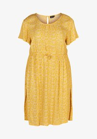 Zizzi - Korte jurk - yellow - 3