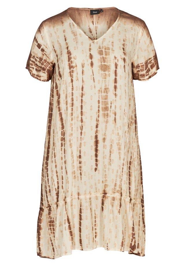 Korte jurk - off-white