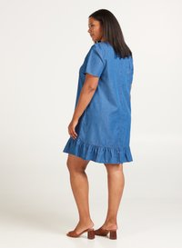 Zizzi - Denim dress - blue - 3