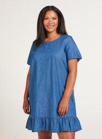Zizzi - Denim dress - blue - 2