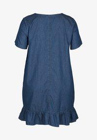 Zizzi - Denim dress - blue - 4