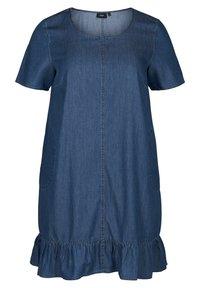 Zizzi - Denim dress - blue - 1