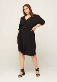 Zizzi - Korte jurk - black - 1