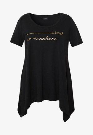 VMIRA - Camiseta estampada - black