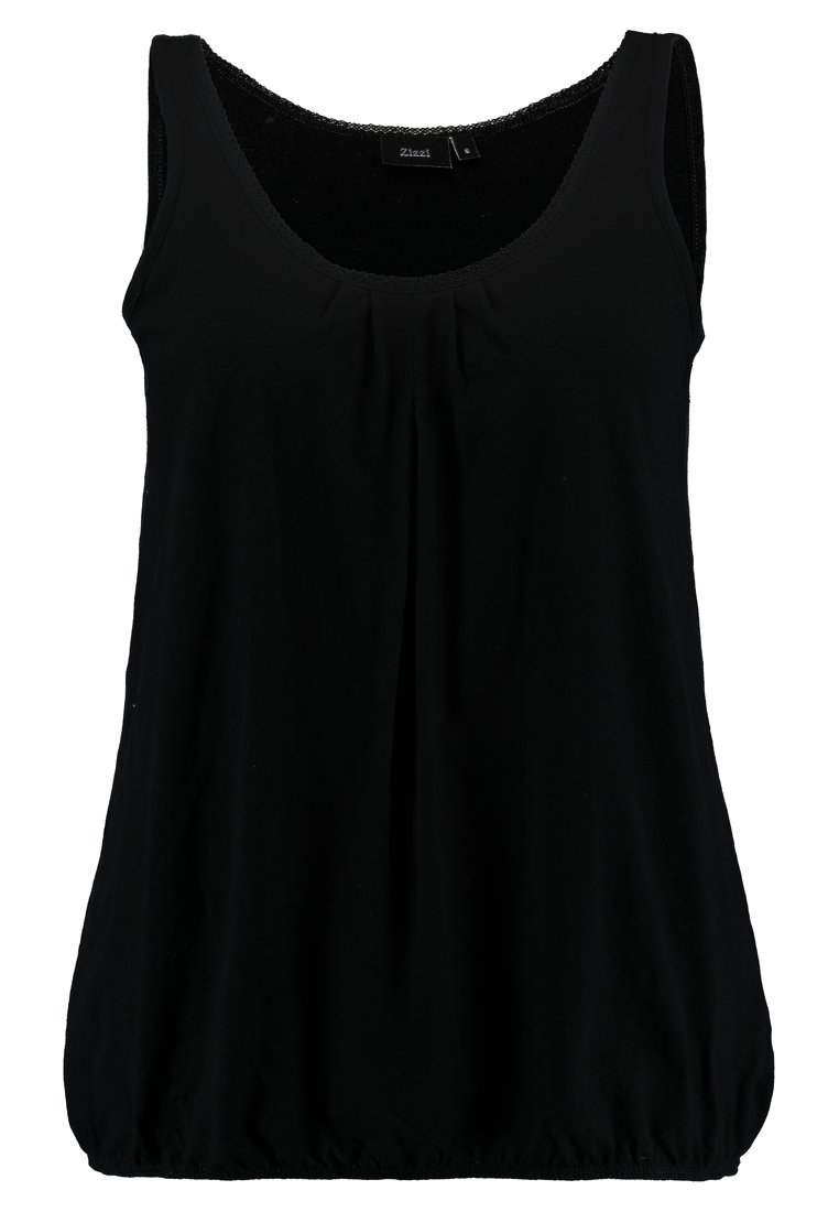 Zizzi Vloa - Top Black