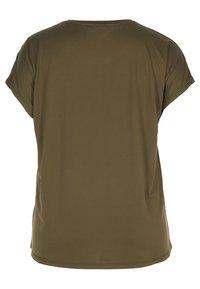 Active by Zizzi - Camiseta estampada - green - 2