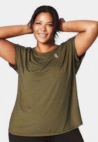 Active by Zizzi - Camiseta estampada - green - 0