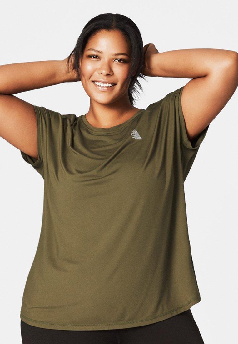 Active by Zizzi - Camiseta estampada - green