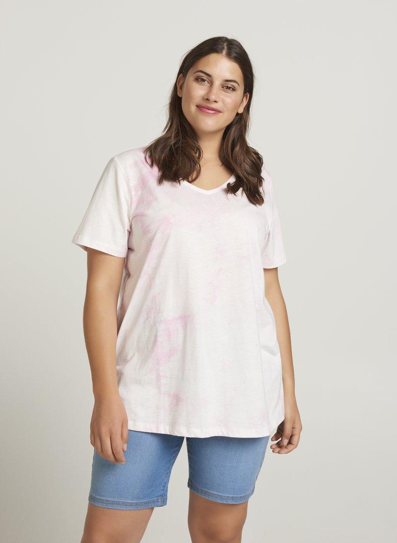 Zizzi - T-Shirt print - pink