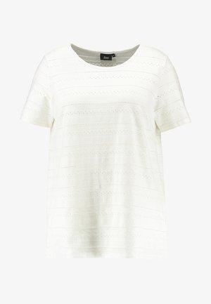 EANABELLE - T-shirt z nadrukiem - snow white