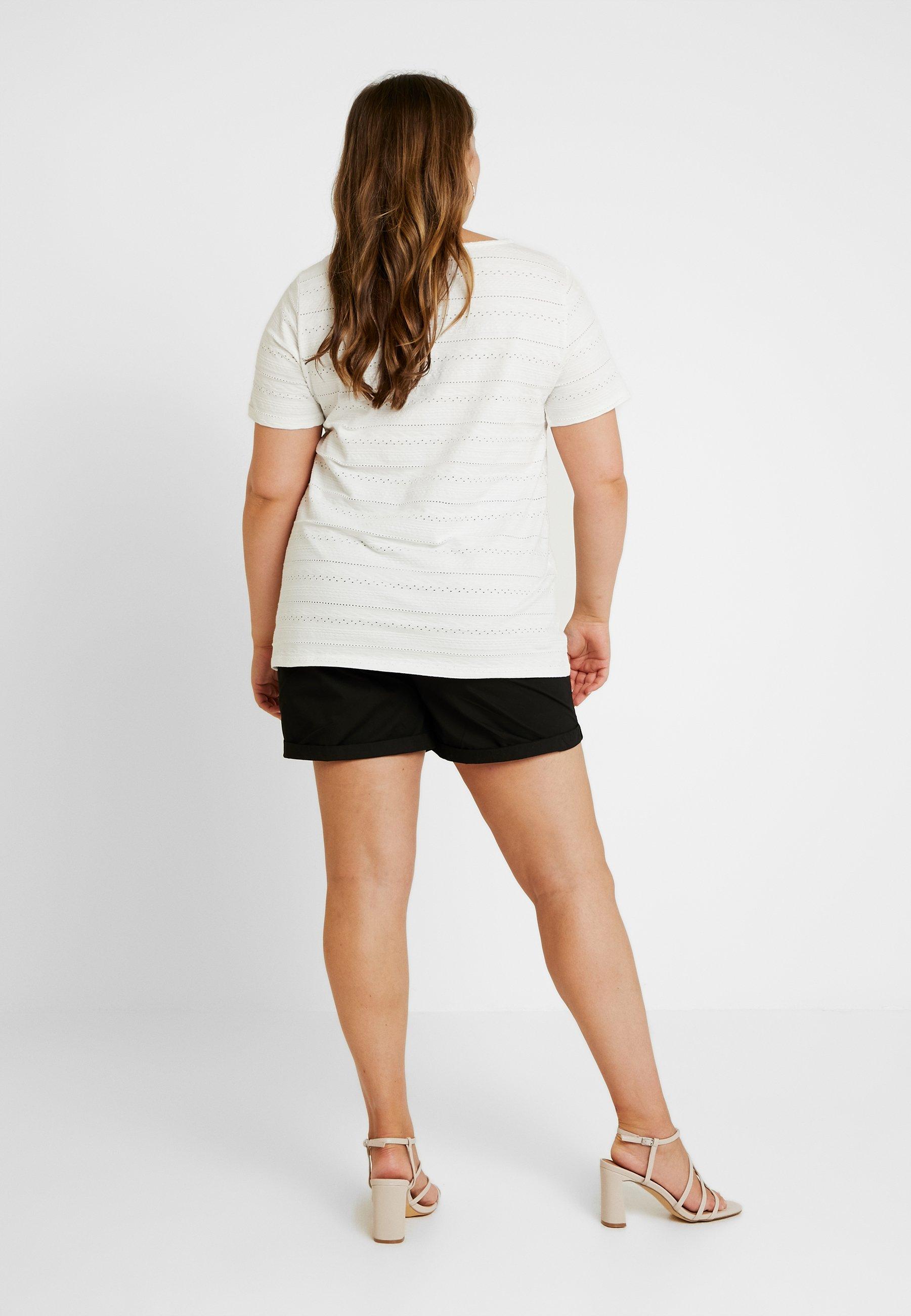 Zizzi EanabelleT Snow Imprimé shirt White rBedCxoW