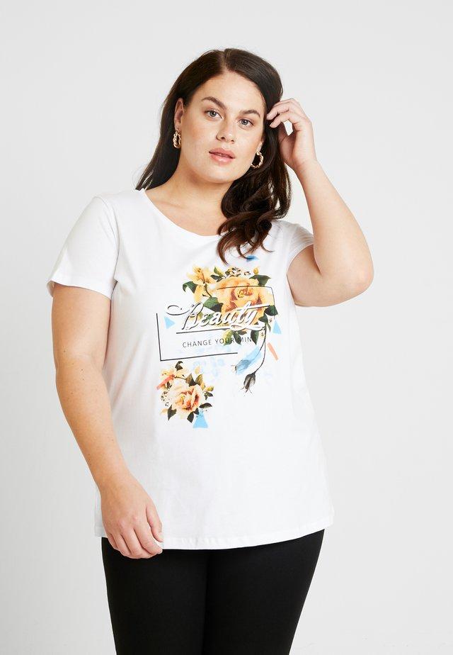 XPURE - T-Shirt print - bright white