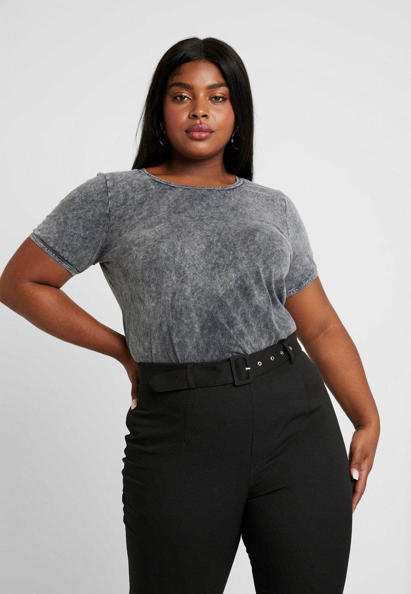 Zizzi - XELLIS - T-Shirt print - black