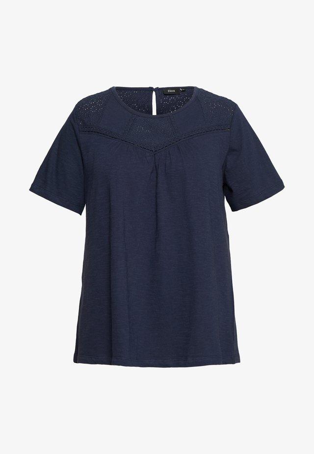 SIERRA - T-shirt con stampa - mood indigo