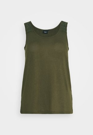 VNORA - Top - ivy green