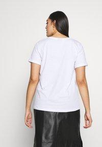 Zizzi - ESHINE - T-shirts print - white - 2