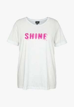 ESHINE - T-shirts print - white
