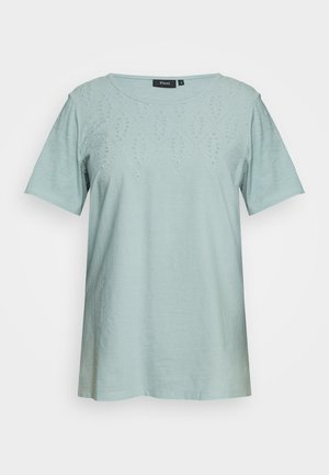 MSTELLA - Print T-shirt - gray mist