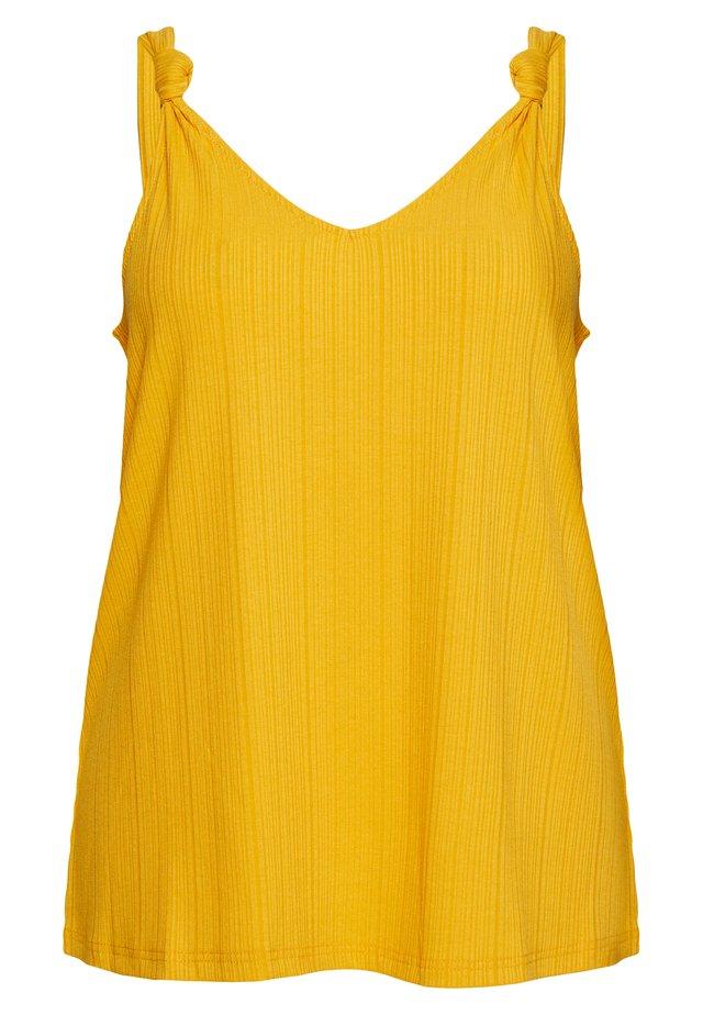 MALLY - Débardeur - mineral yellow