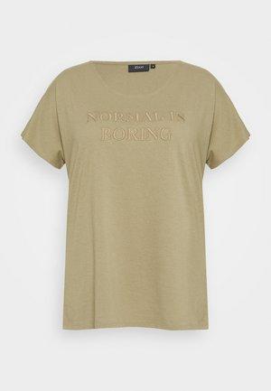 MBIANCA - Print T-shirt - light green