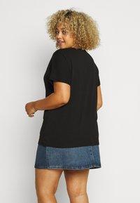 Zizzi - MBIANCA - Print T-shirt - black - 3