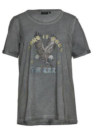 MBRITT - T-shirts print - grey washed