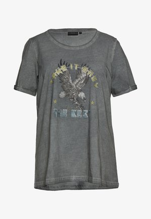 MBRITT - T-shirt imprimé - grey washed