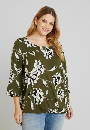 AMY BLOUSE - Bluser - rifle green