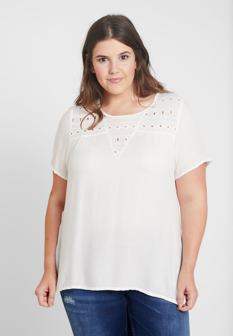 Zizzi - CALIAN BLOUSE - Camicetta - snow white