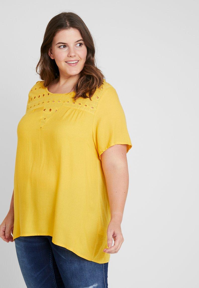 Zizzi - CALIAN BLOUSE - Bluse - golden yellow