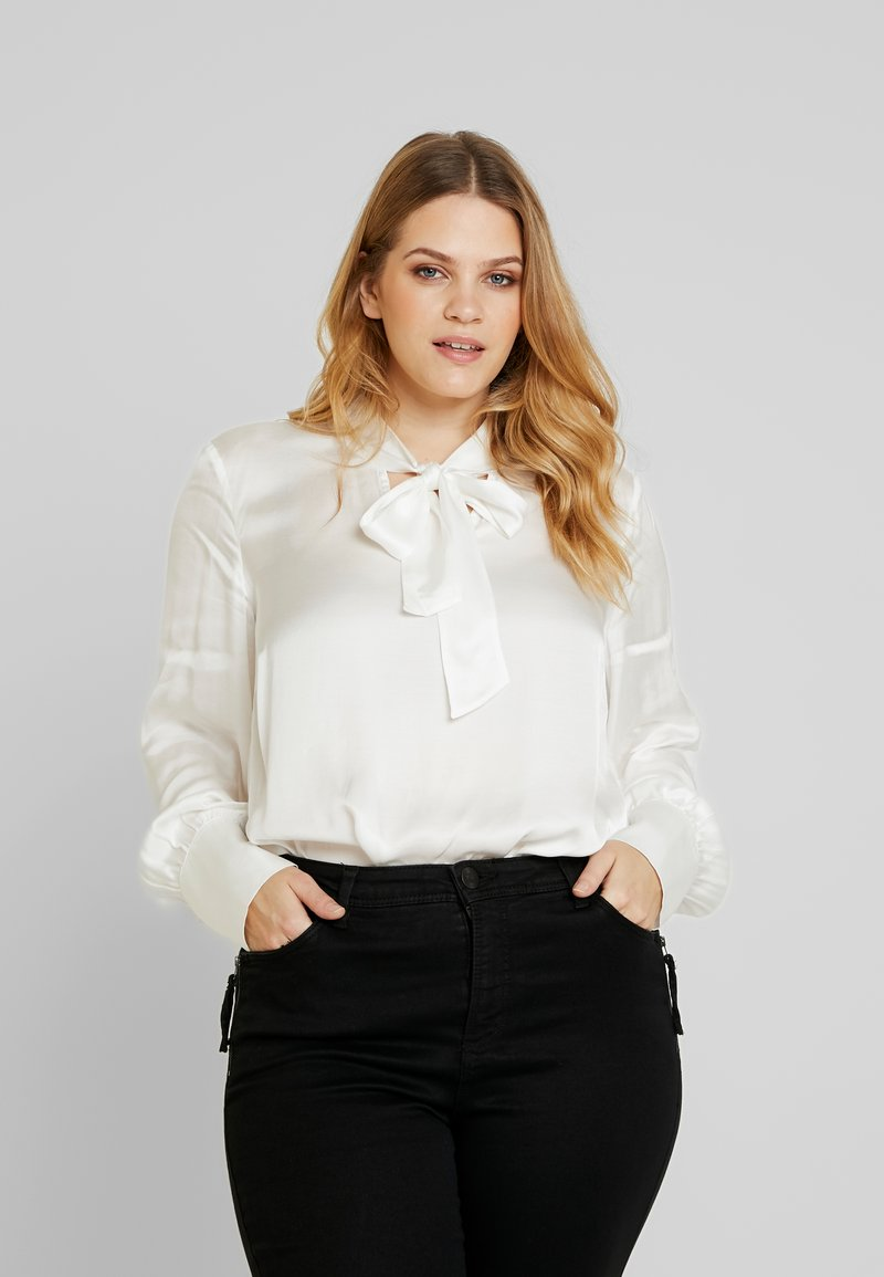 Zizzi - BLOUSE - Bluser - snow white