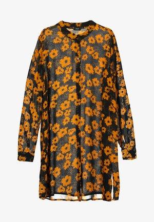 XMERLE - Button-down blouse - black