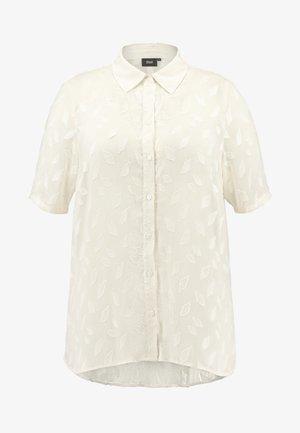 EXCLUSIVE ELEAF - Camicia - cream white