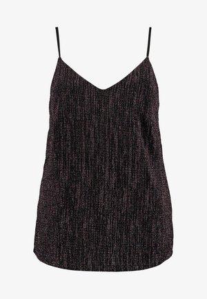 XAMILIA SINGLET - Toppe - black/multi color
