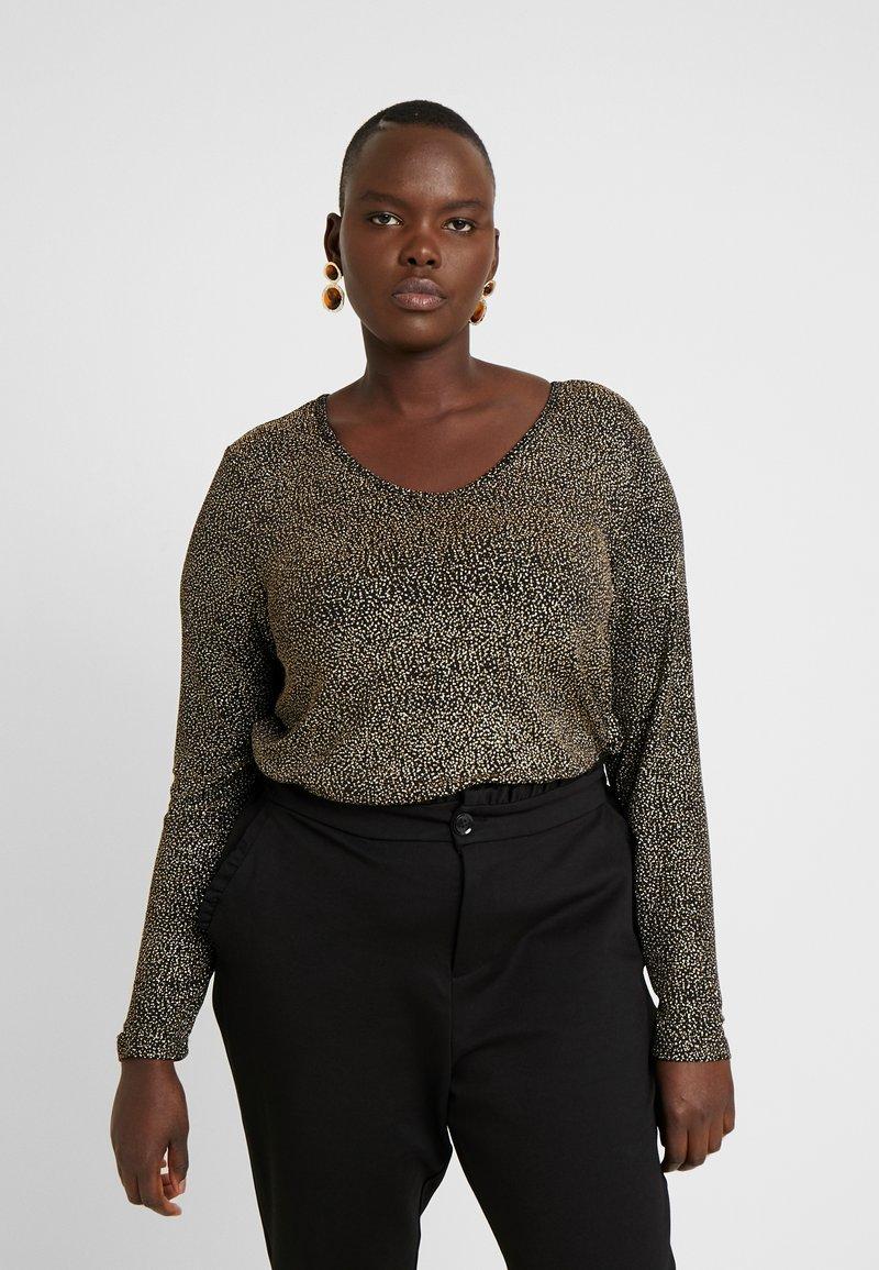Zizzi - XMYNTHE - Long sleeved top - black