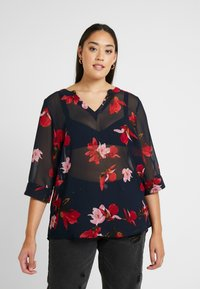Zizzi - MSUDDA BLOUSE - Blusa - night sky - 0