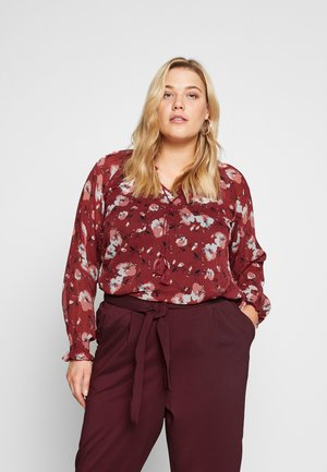 EABBY BLOUSE - Blůza - burned red