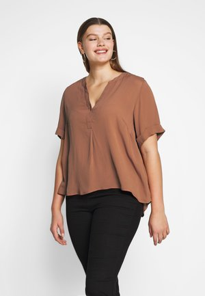 MSILLE - Blouse - mahogany