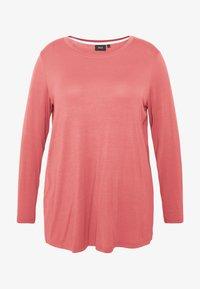 Zizzi - MLANA - Langærmede T-shirts - dusty cedar - 3