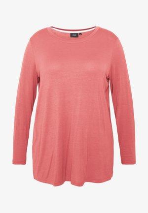 MLANA - Camiseta de manga larga - dusty cedar