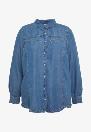 JANNA - Button-down blouse - blue denim