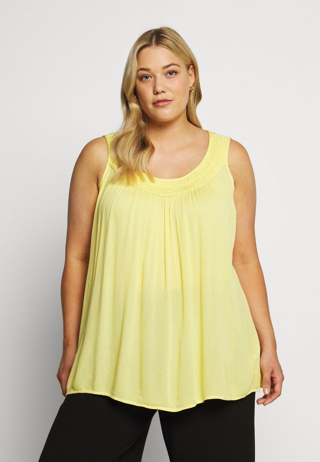 MIGGY - Blouse - lemon drop