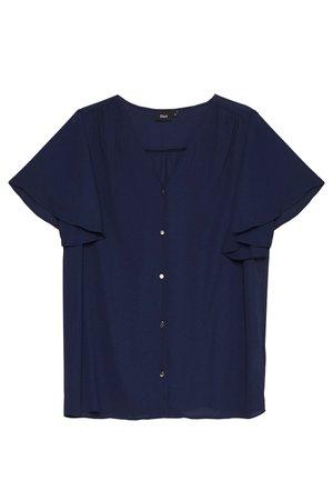 XGEA SHIRT - Bluzka - navy blazer