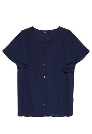 XGEA SHIRT - Blouse - navy blazer