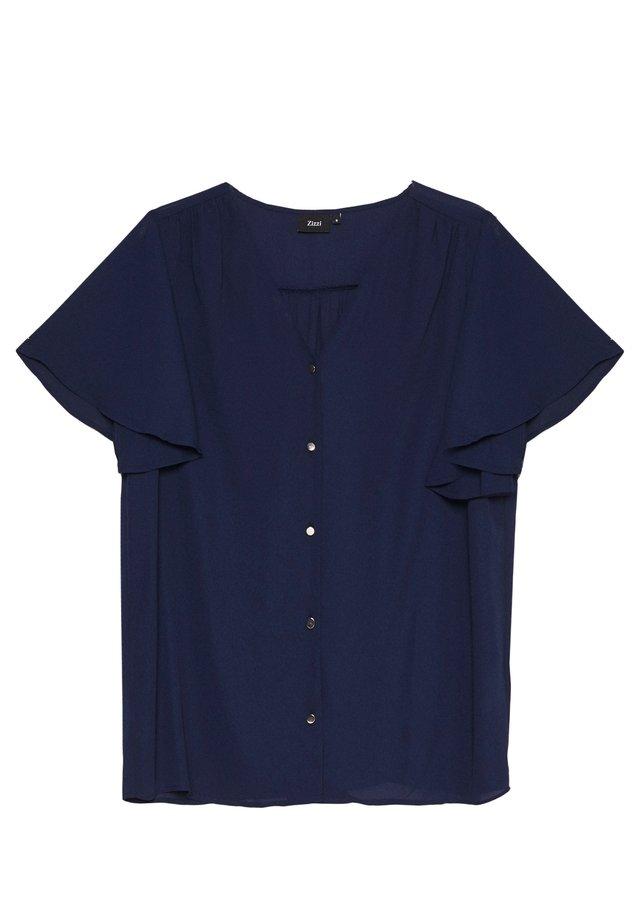 XGEA SHIRT - Blůza - navy blazer