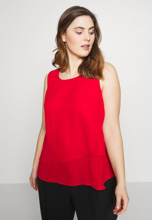 MINA - Blouse - tango red