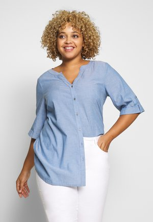 VAVA - Blouse - blue chambray