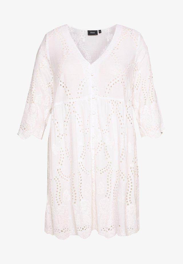 MINGRUN - Bluse - whisper white