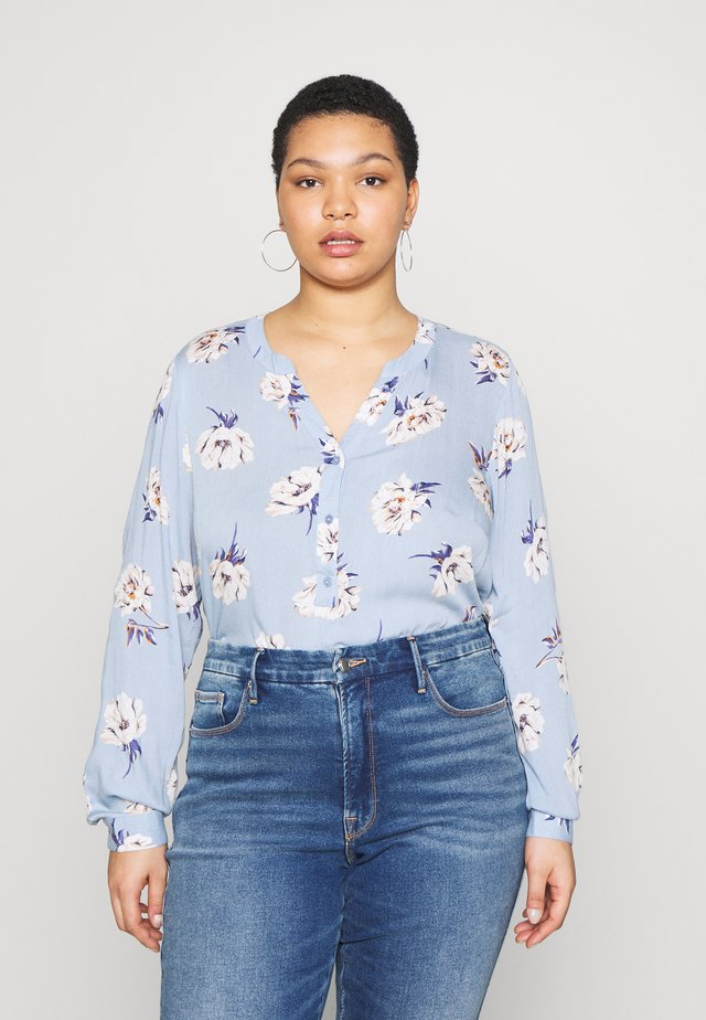BLOUSE - Blůza - light blue