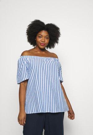 VAVA - Blouse - blue big stripe